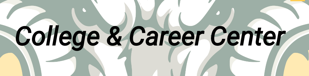 College and Career Center Banner