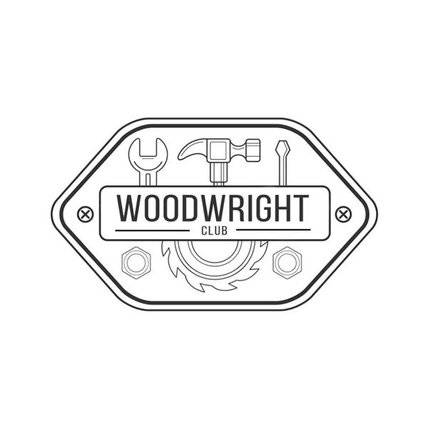 Wood wright logo banner