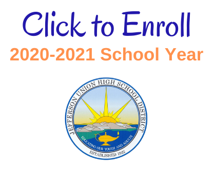 2020-21 Enrollment/ Registration Process