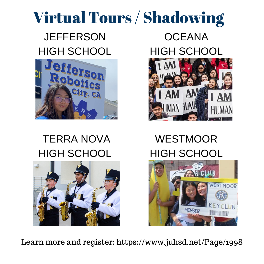 Virtual Shadowing / School Tours
