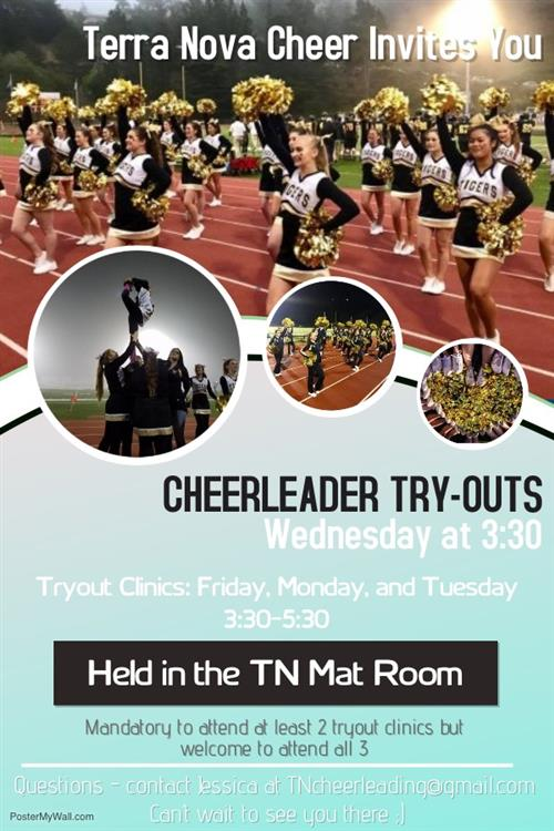 Cheerleader Try outs